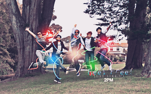 2PM wallpaper by Alysu08