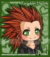 Kingdom Hearts- Axel by snowbunnyluv