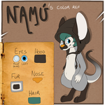 Namu' Color Reference by Pinapard