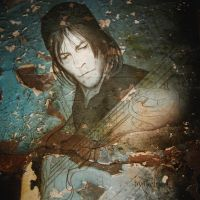 Norman Reedus with texture by ikebana-faberje