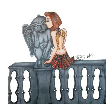 Gargoyle Kisses by Morbid-ology
