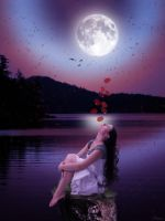 The Love of the Moon by maiarcita