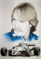 Keke Rosberg Tribute by machoart