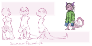Summoner Concept : Pserpantyne by StarrBerry