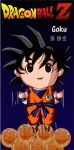 Goku page holder by JimeReynosoP