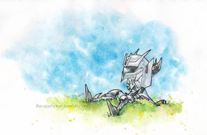 Chibi TFP Soundwave by The-Starhorse