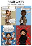 Star Wars - The Ship Hate Awakens by caycowa