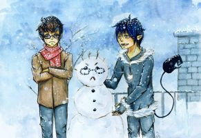 Okumura brothers by RonnikBC