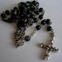 Black Rosary by AshenArtifice