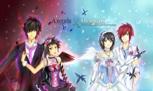 D.Gray-Man - Angels and Demons by Arlequinne