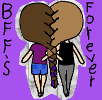 BFF'S forever by waterpainter1144
