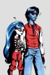 Ghoulia and the Deadcruiser by LinaPrime