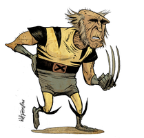 Old Wolverine by willterrell
