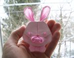 Pig-Rabbit - Origami by mitanei