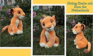 Simba cub from the Netherlands by Laurel-Lion
