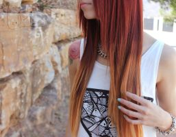 ombre hair by LouMavis