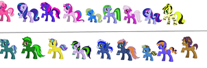 Free Adoptables Batch  (OPEN) by DrTrebleClef