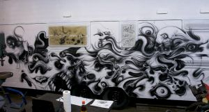 wohnzilla caravan airbrush project by graynd
