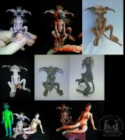 Salacious Crumb Star Wars Custom Action Figure by ayelid