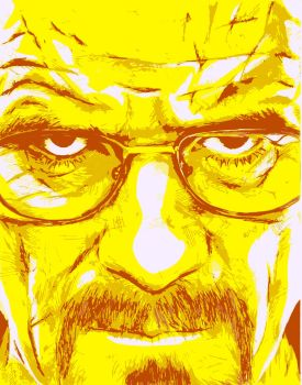Walter White Vector by opeyuvadown