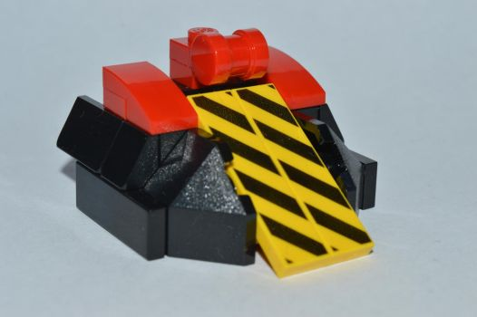 LEGO Eruption - Robot Wars Series 9 by IHave2MuchFreeTime