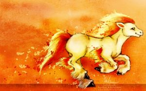 Ponyta Ponyta by helloheath