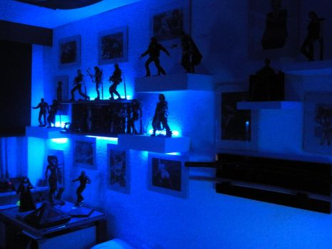 My Room and my Collection! Old pics! 2 by MrJamesBlack001