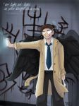leviathan!Cas by Grayfeather73