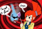Ghost Trick: Sissel and Lynne by Roxas-Keyblader