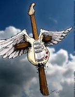 Heavenly Guitar 2 by hassified
