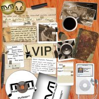 mostafa music website by designer-brain