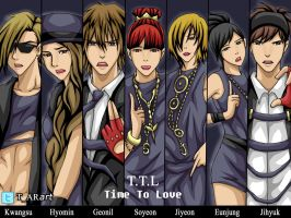 T.T.L - Time To Love by T-ARart