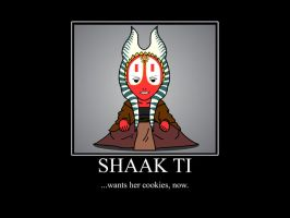 Shaak Ti Motivational by G-Blackwood