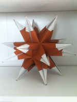 Igel Kusudama by DaughterofBeast23