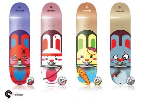 Dunnits - Skateboards by ethnobot