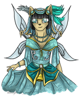 Neopets Art Trade: Polyphiloprogenitive by Blesses