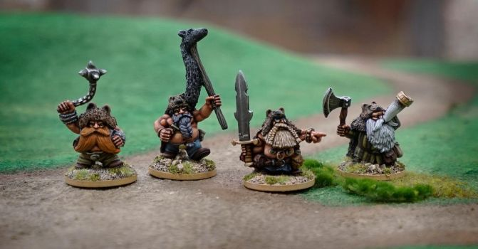 Norse Dwarves by WarmongerMiniatures