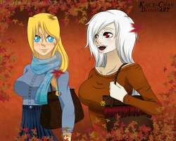 [ONE PIECE OC/COLLAB] Rina and Sorana~ by RosiieChan