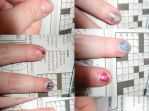 Percy Jackson Nails by Azarahael-Morganti