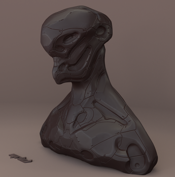 Sculpting Practice by mrhd