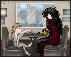 FF7- Chess Match by combatmaster