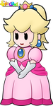 Peach - Paper Mario: The Thousand Year Door by Stacona