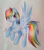 Rainbow Dash by CoffyTacoTuesday