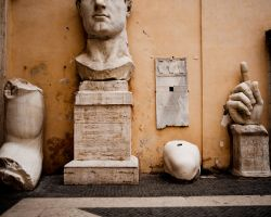 Head of Constantine by Andross01