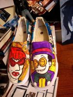 Superjail Shoes in Color by Trenching-China