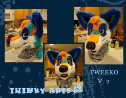 Tweeko Wolf Head V.2 by TweekoWolf