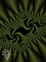 Green Swirlies by On-A-WHM