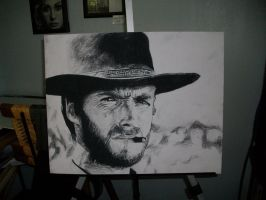 Clint Eastwood The Good by DarkCalamity