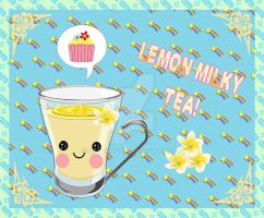 Lemon MIlk Tea by mymelody1