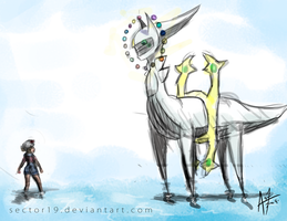 Arceus Power. by sector19